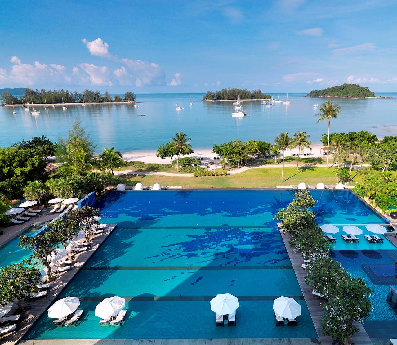 The Danna Langkawi, Malaysia - The Danna Langkawi houses the largest infinity pool on the island