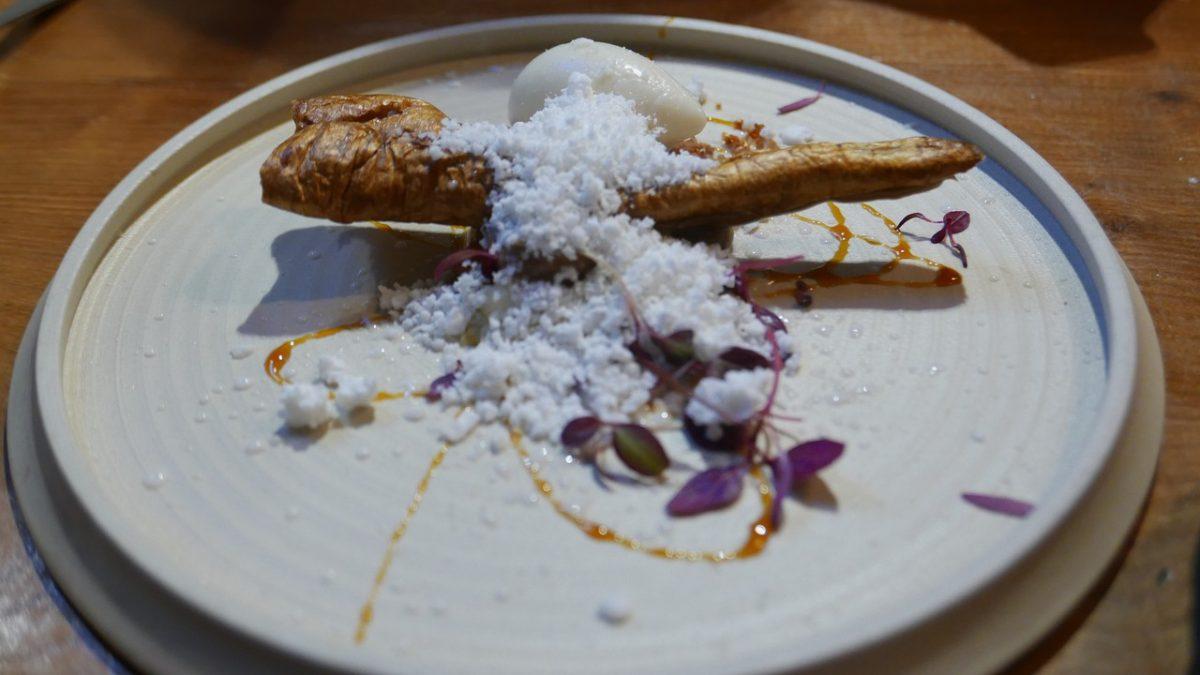 The Frog Hoxton parsnip dessert