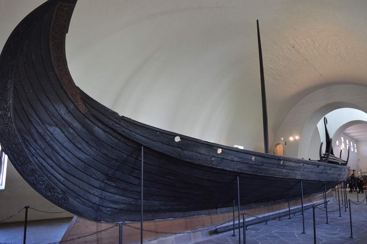 The Gokstad ship, Viking Ship Museum, Oslo