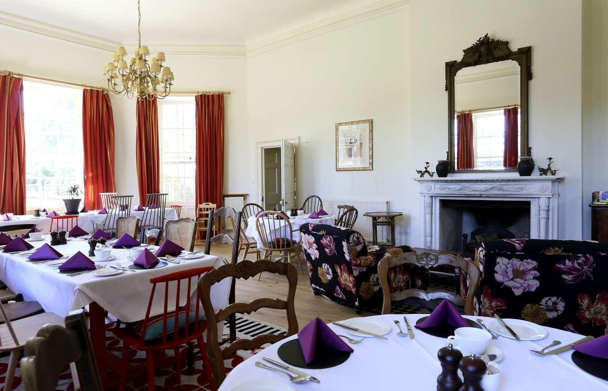 The Ickworth Lodge restaurant