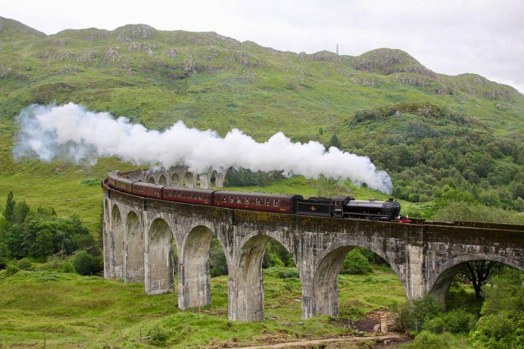 The Jacobite train