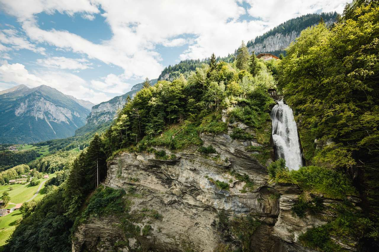Switzerland Summer: Schattenhalb, Reichenbachfaelle
