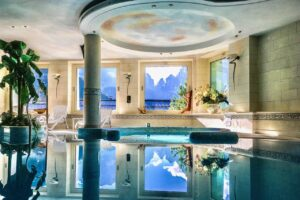 The Spa at Hotel Lorenzetti in Madonna di Campiglio© Valery Collins