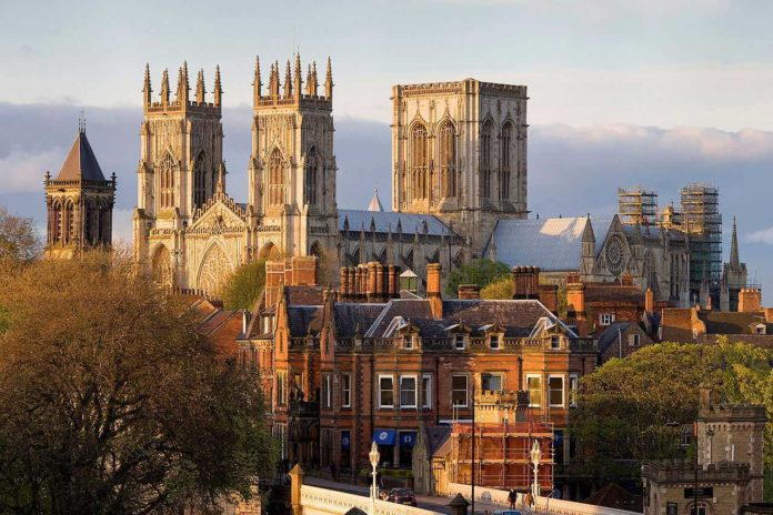 The city of York