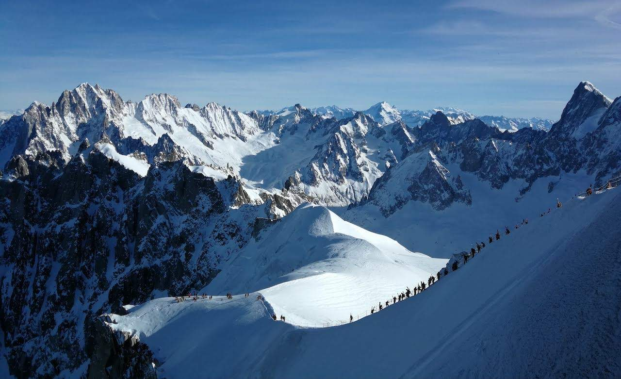 Top of Vallée Blanche