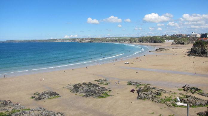 Towan Beach, Newquay Cornwall