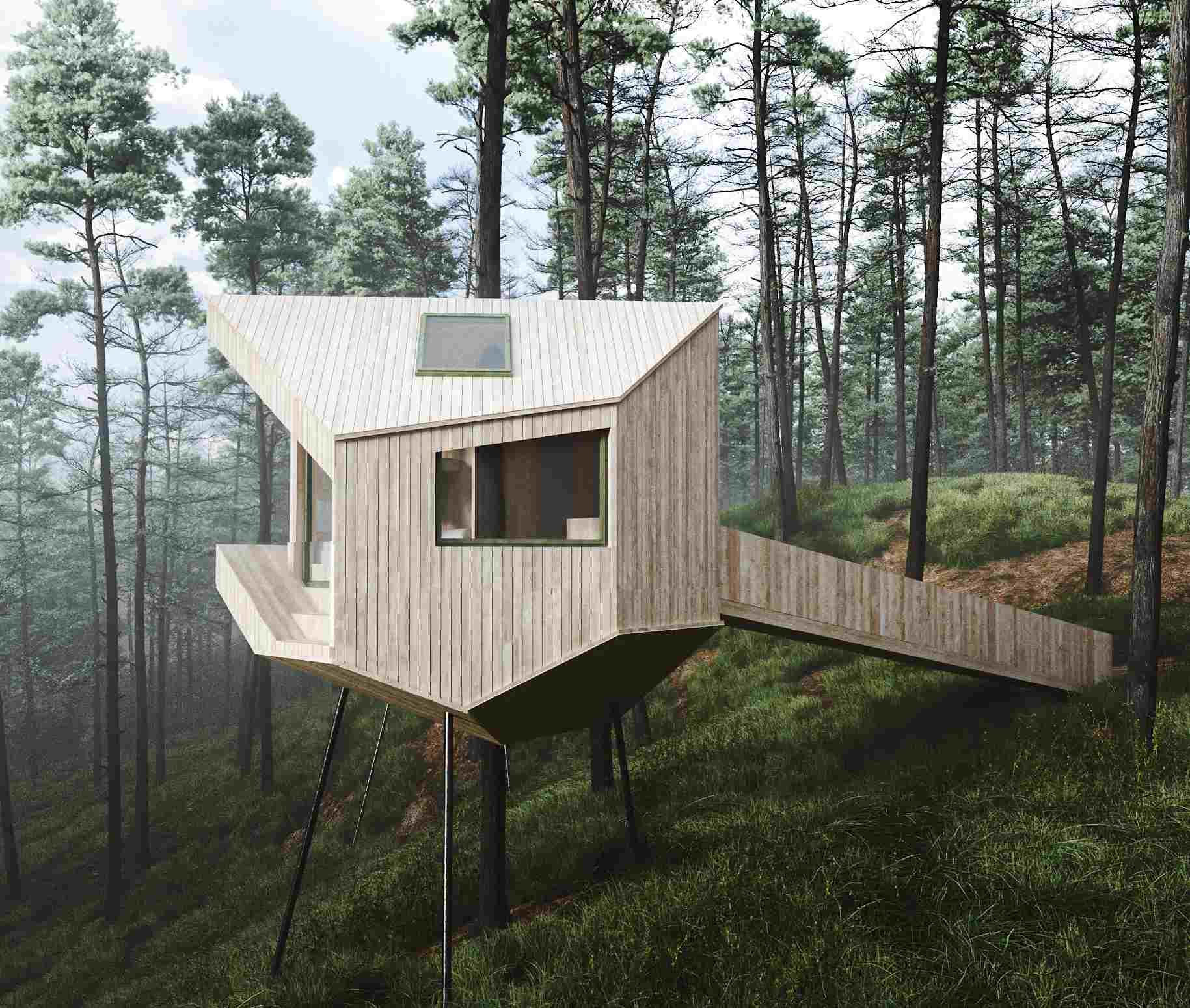 Trekronå Treetop Cabins