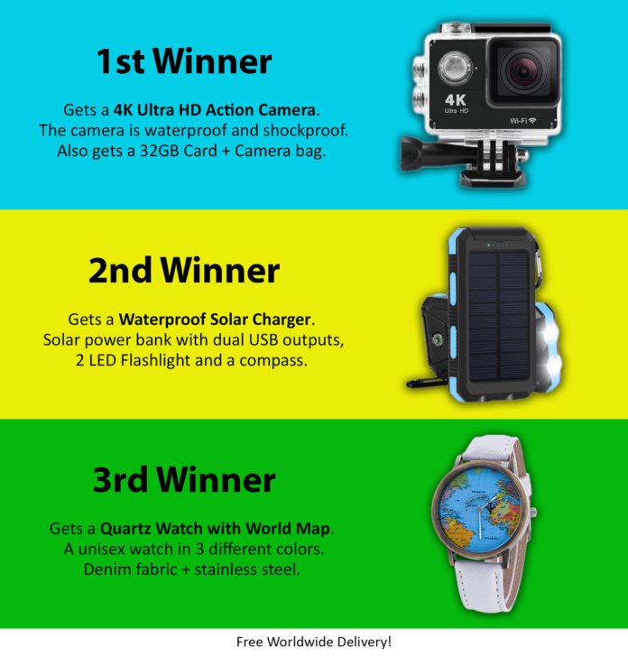 Trip and Travel gadget competition