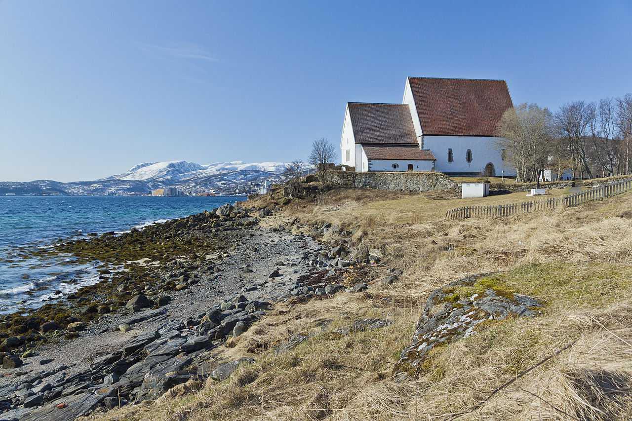 Trondenes Church in Harstad, Norway