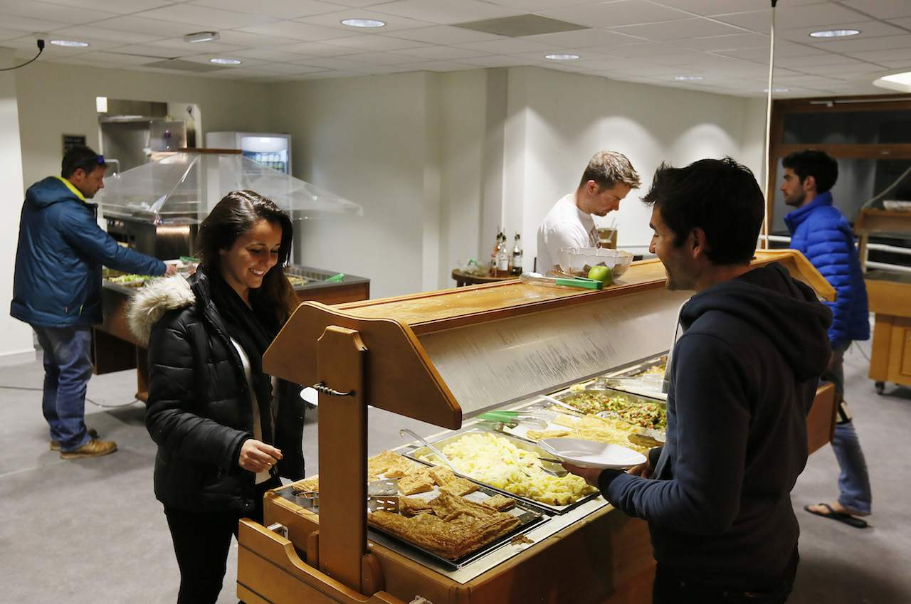 UCPA Argentiere Buffet