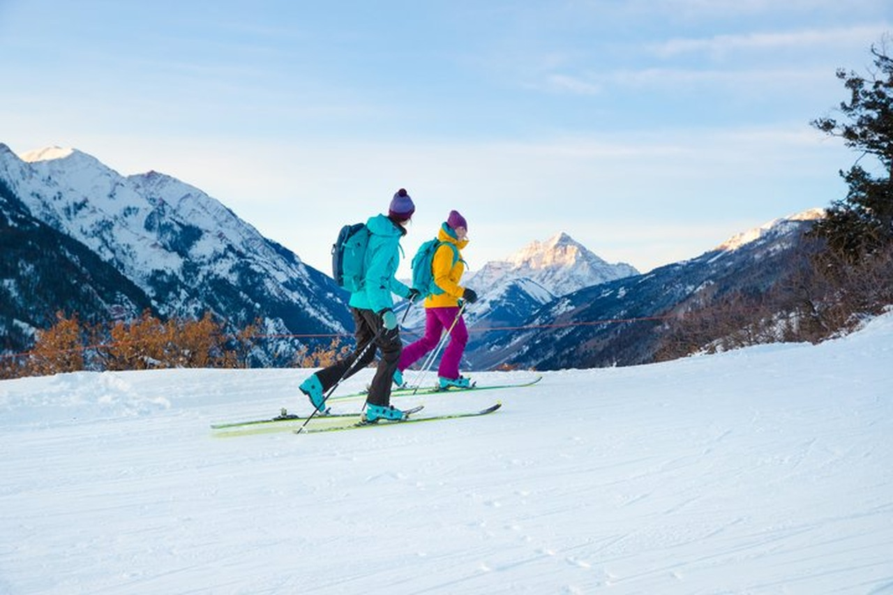Uphill Skiing Aspen Snowmass