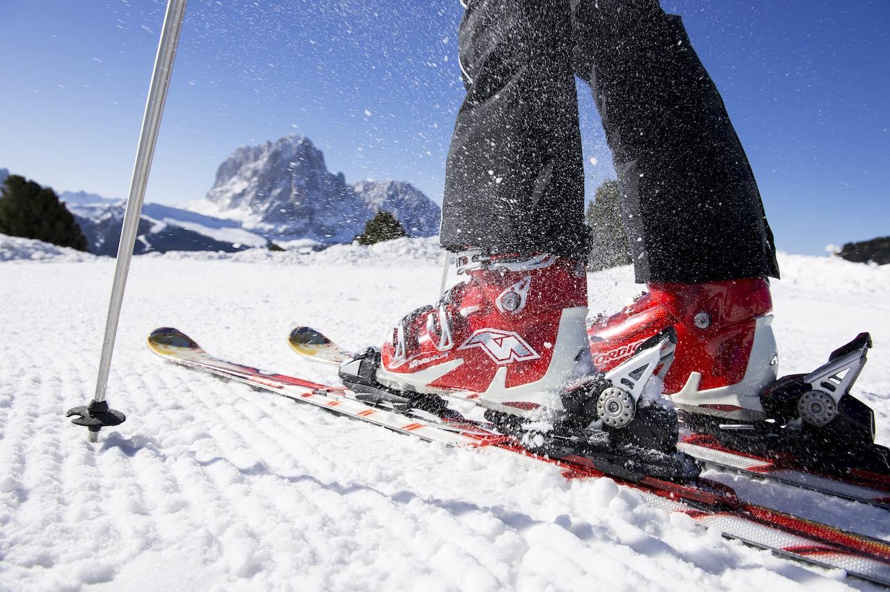 Val Gardena - ski boots