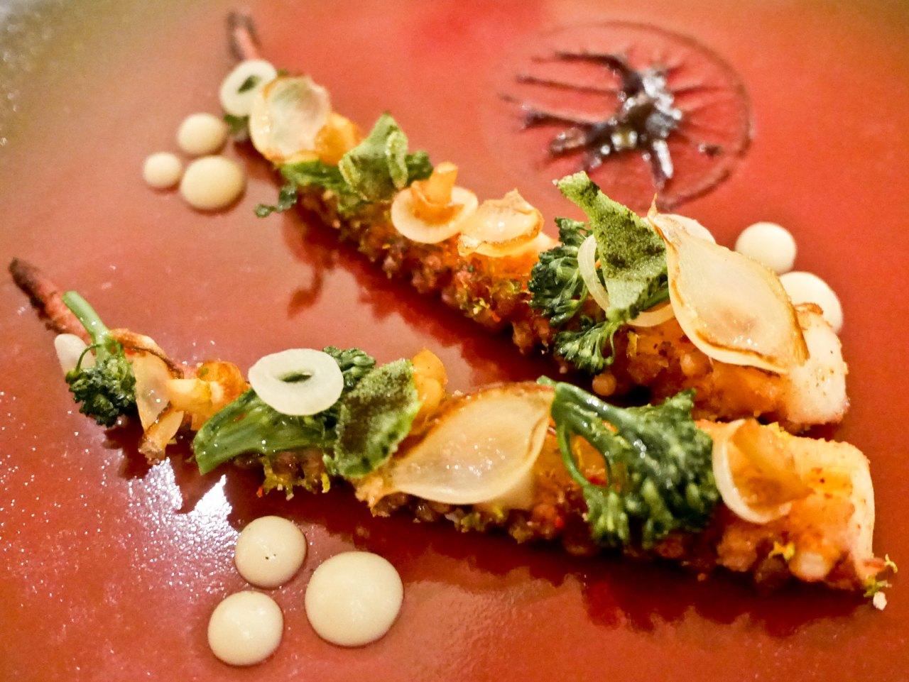 Four Seasons Hotel Ritz Varanda Restaurant Octopus