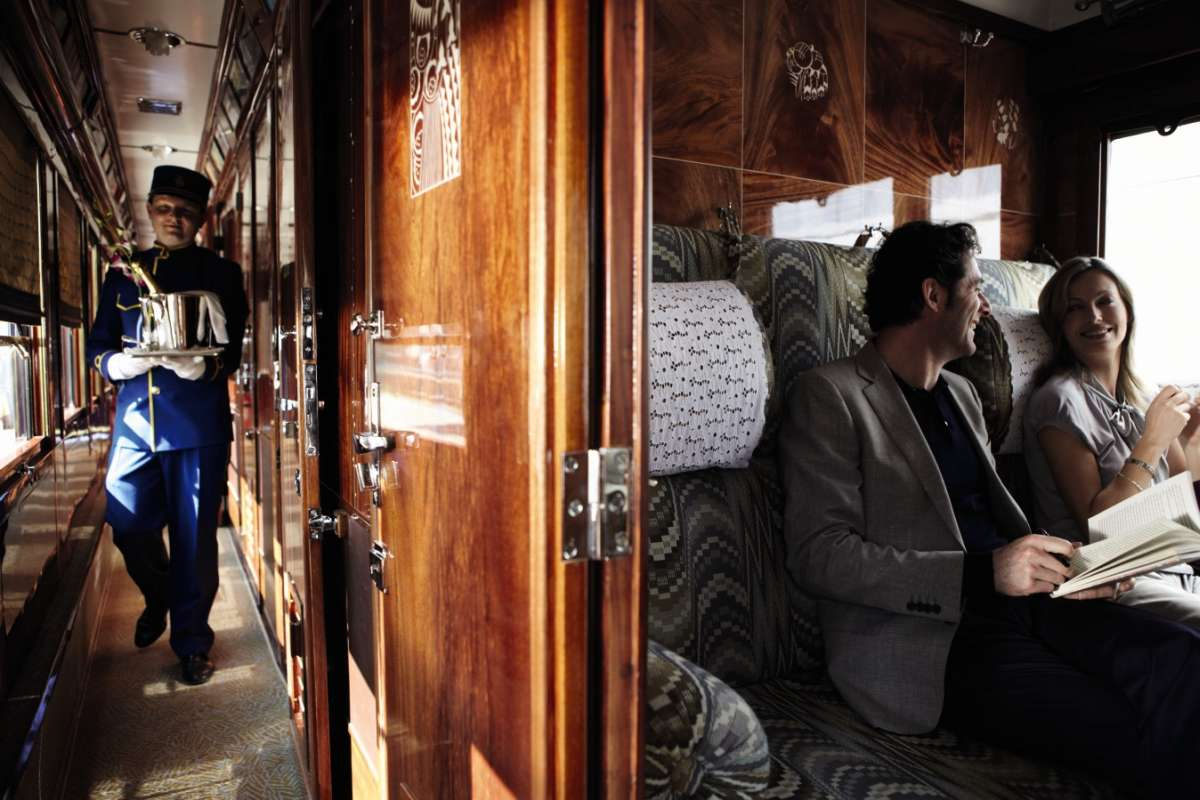 Venice Simplon-Orient-Express - corridor and cabin