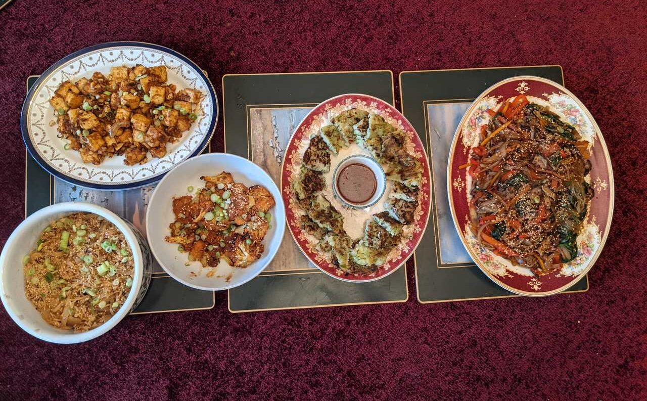 Vegan Korean Feast Box 1