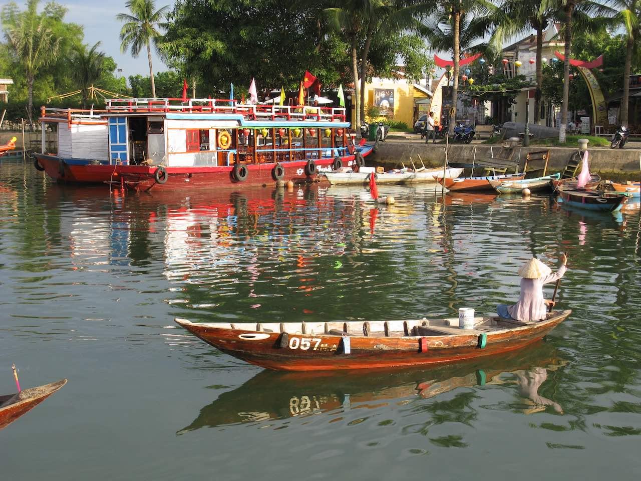 Vietnam - river - Hoi An