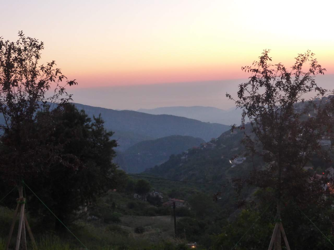 View from Ehden, Beirut