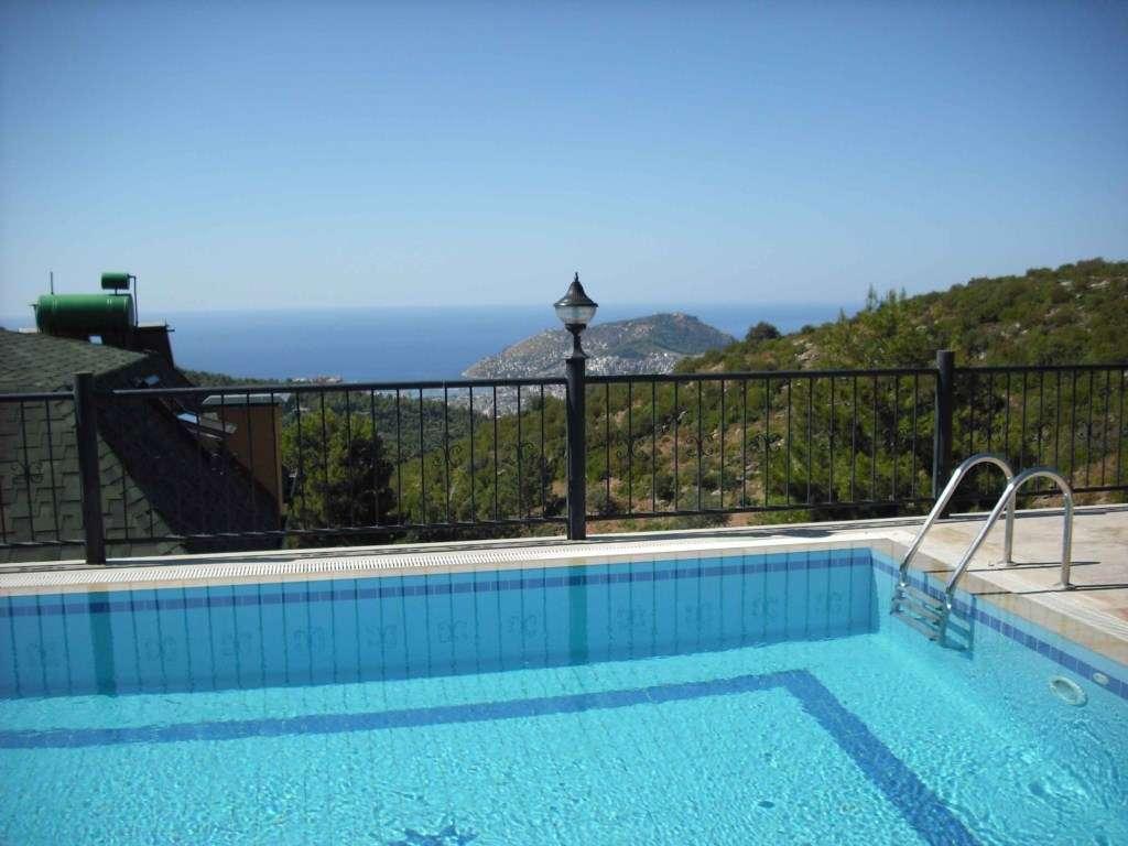 Dream Villa, Alanya: pool with panoramic view