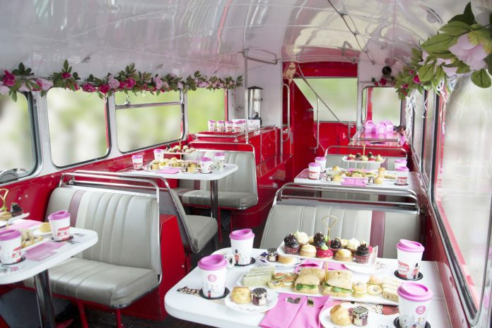 Vintage Afternoon Tea Bus