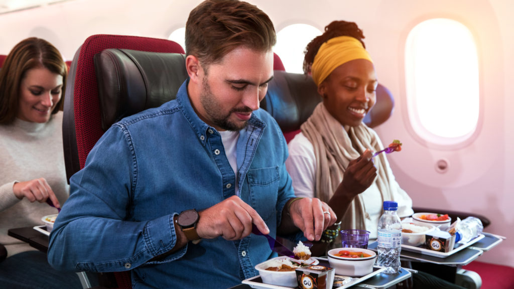 Virgin Atlantic cabin: economy classic