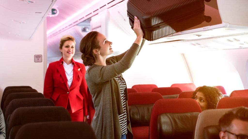 Virgin Atlantic cabin: economy light
