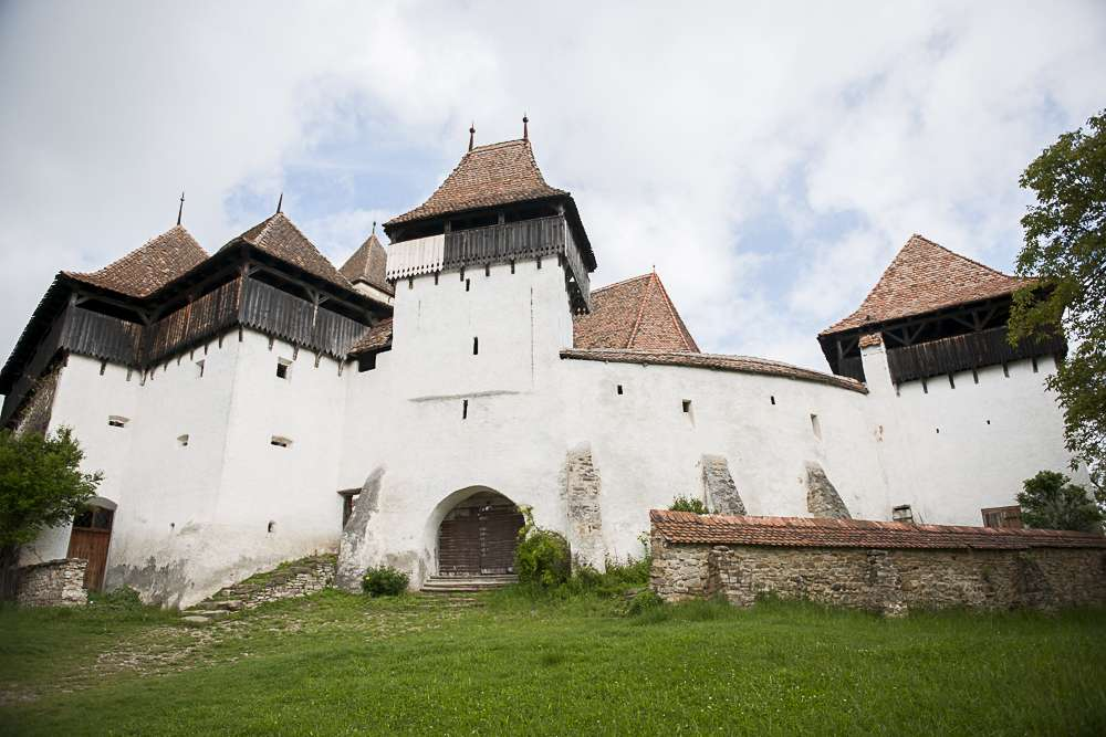 Viscri Fortified Church at the heart of the UNESCO World Heritage village