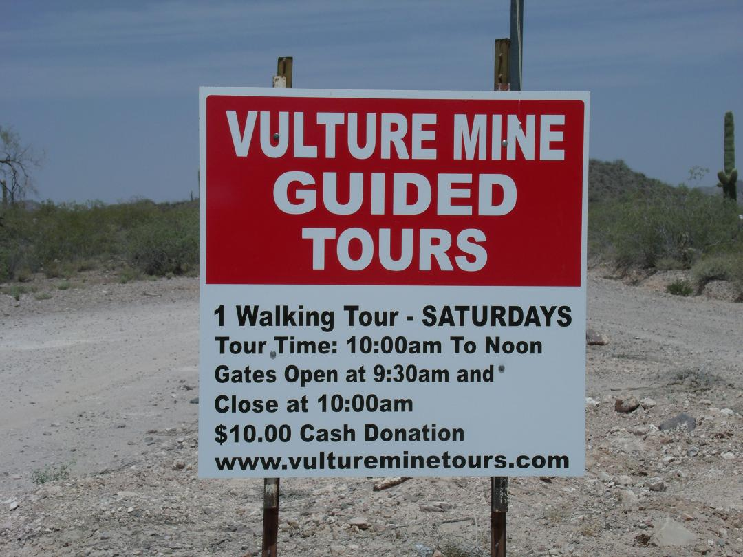 Vulture Mine guided tours