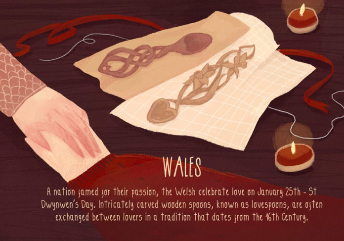 Valentine's Day Traditions from Around the World: Wales