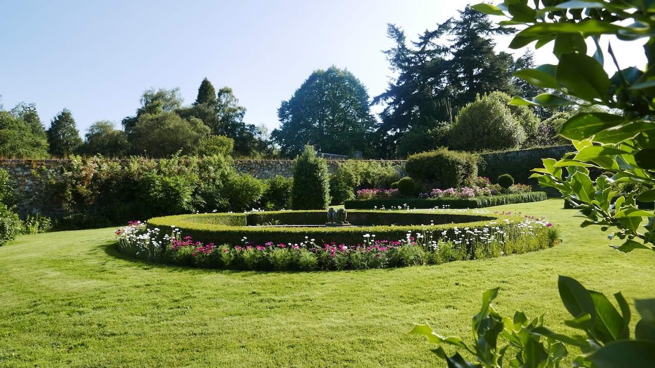 Walled Garden at Drum Castle