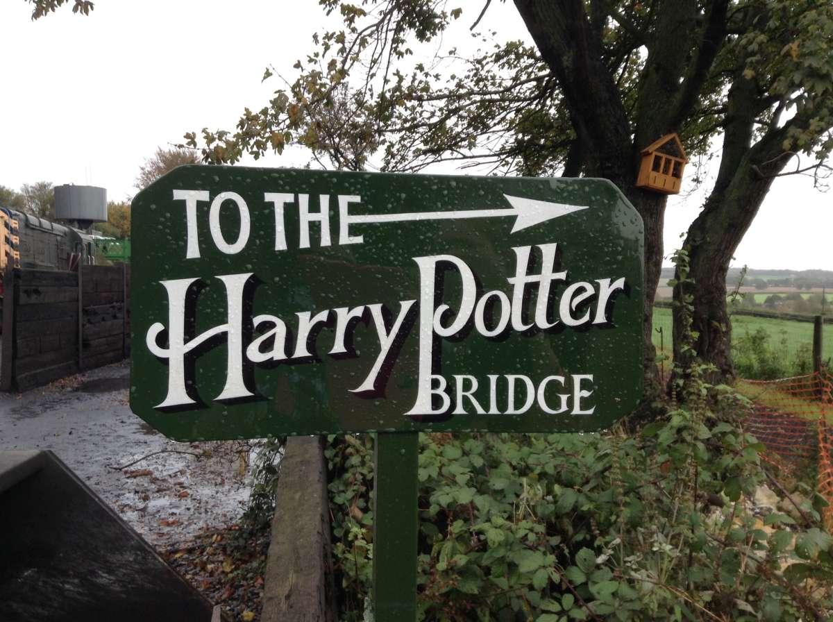 Watercress Line To Harry Potter Bridge Halloween