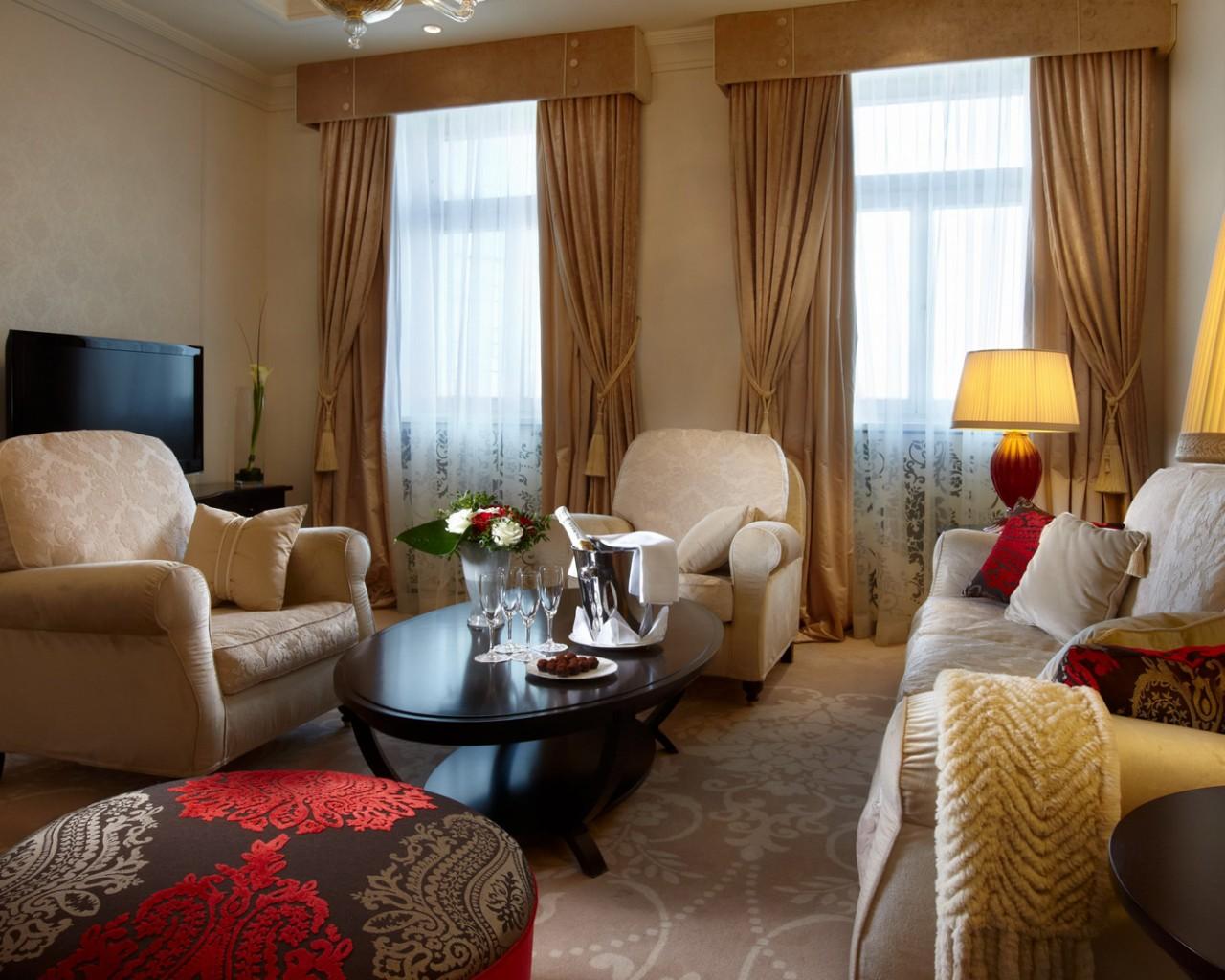 Cade Design Livingroom at Hotel Baltschug Kempinski Moscow