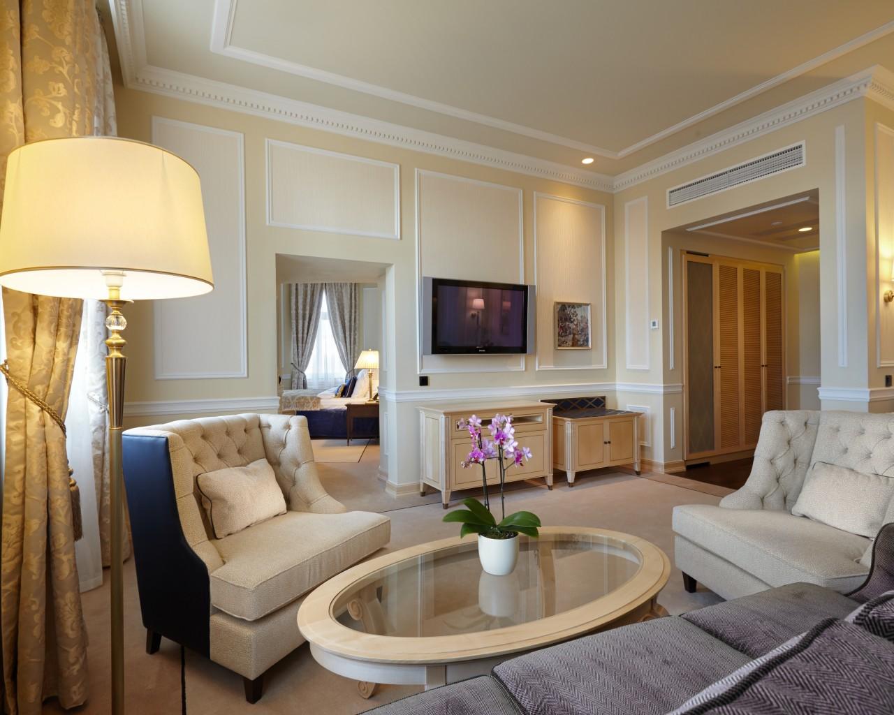 Kremlin suite at Hotel Baltschug Kempinski Moscow