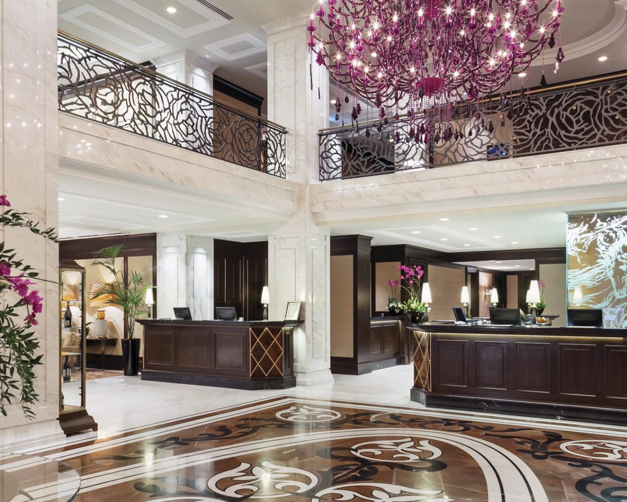 Reception at Hotel Baltschug Kempinski Moscow