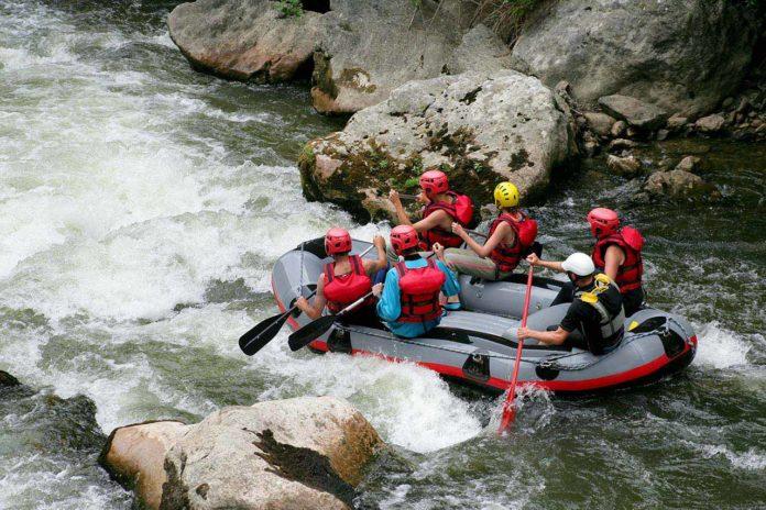 Western Canada - rafting