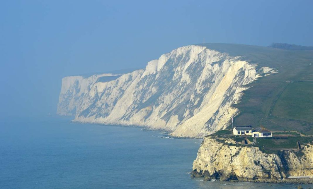 White cliffs of Isle of Wight