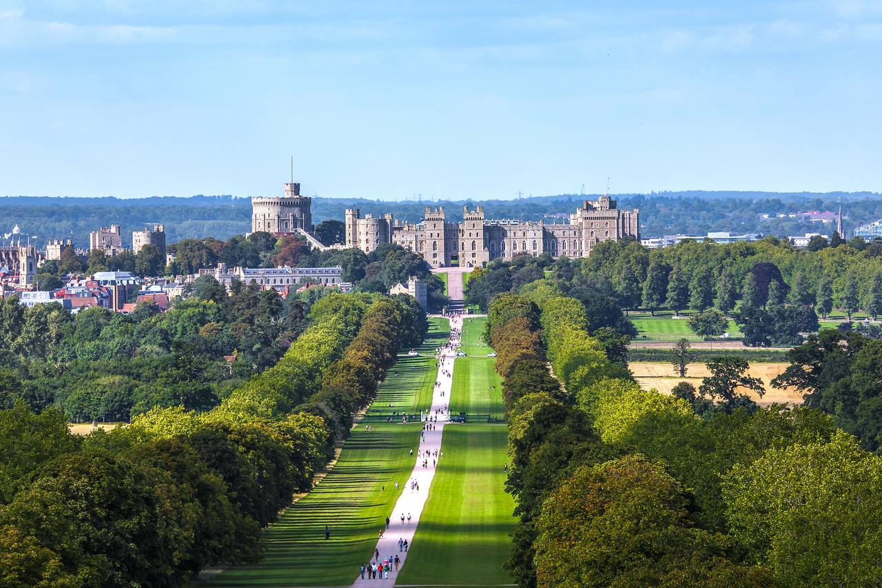 Windsor Castle and its park