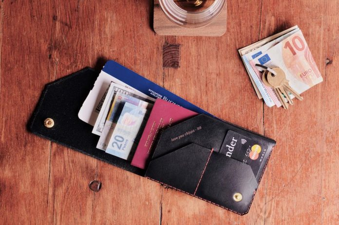 Wingback Travel Wallet