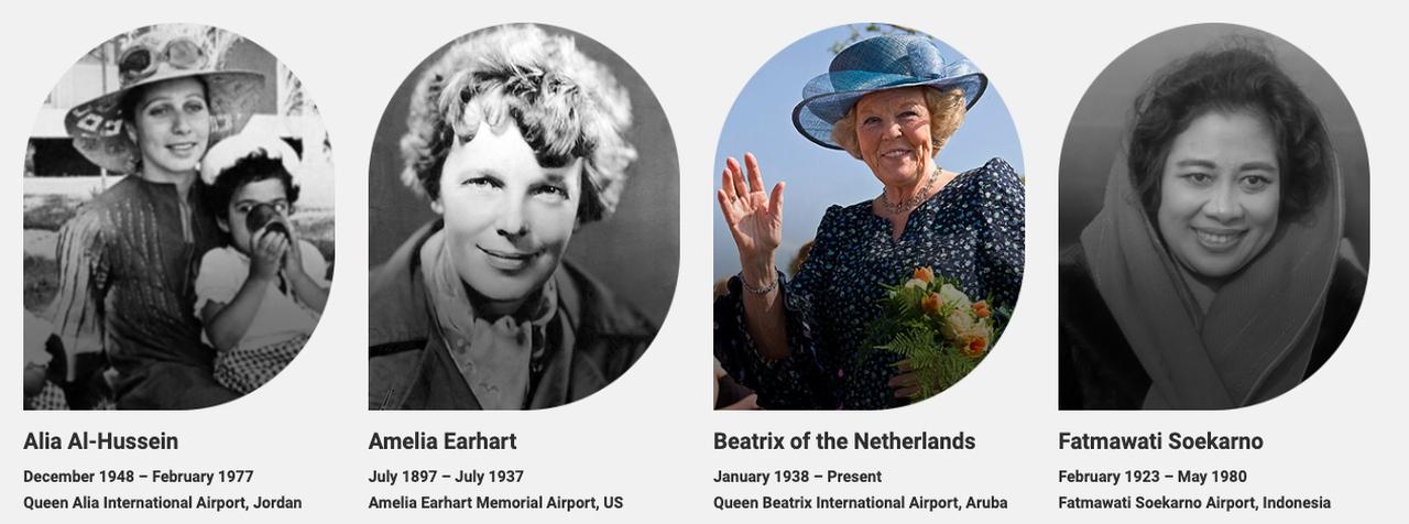 Women airports