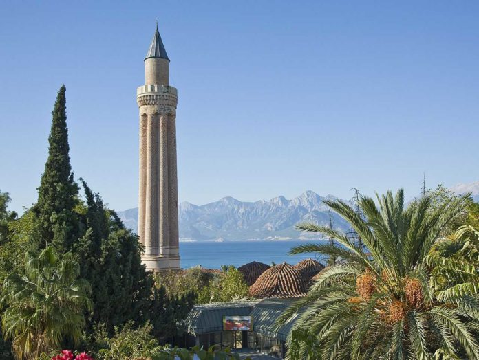 5 winter sun destinations easy to get to from the UK Yivli Minaret Mosque Antalya 696x524
