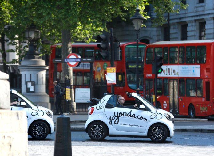GoYonda Smart car in London