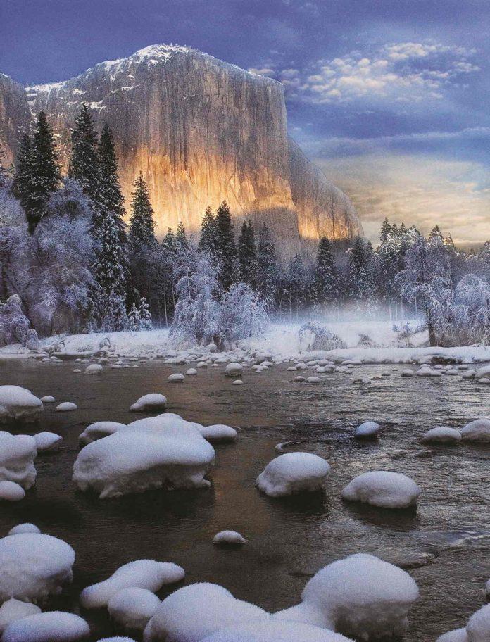 Yosemite Mariposa County at sunset