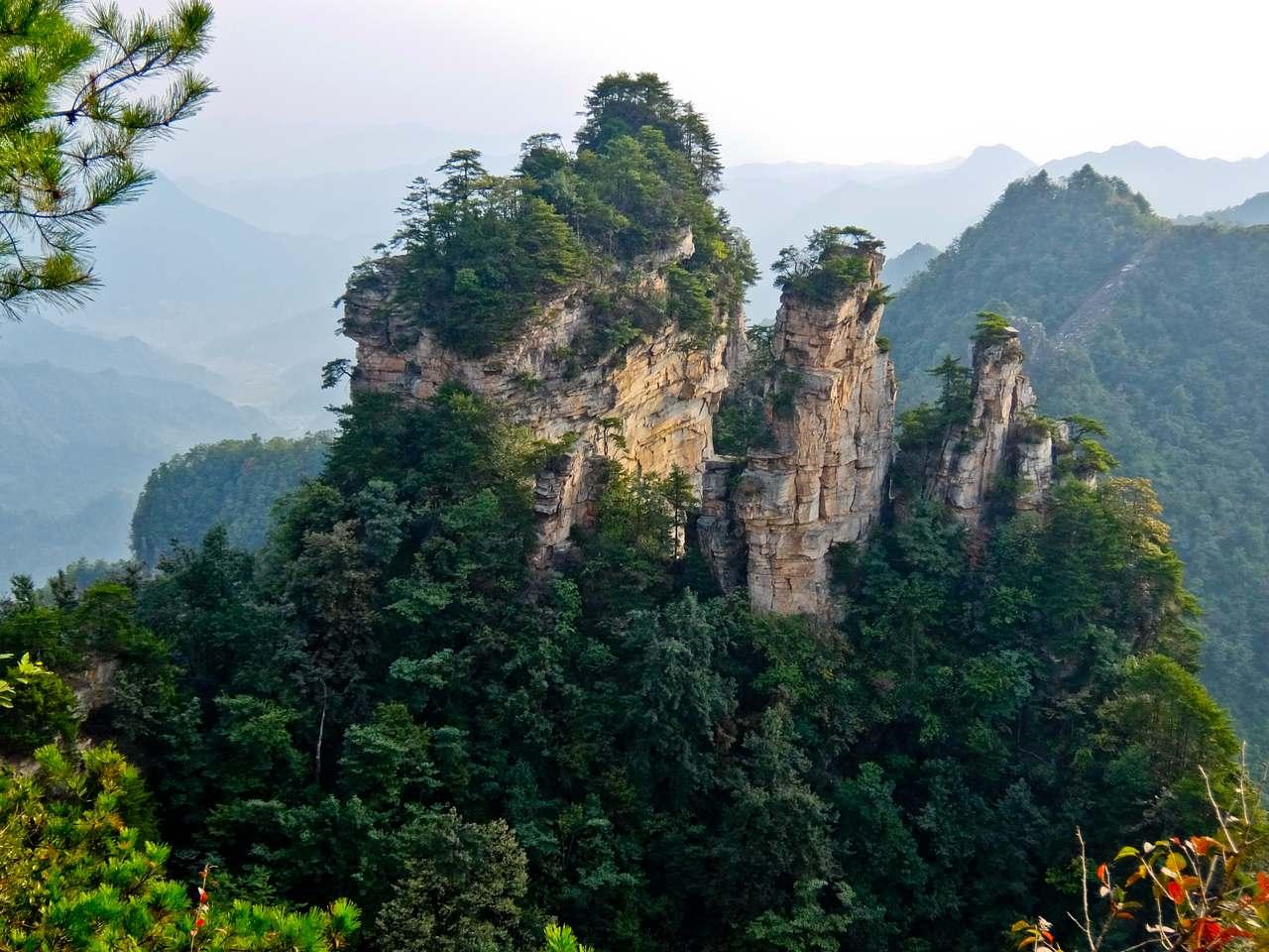 Yuanjiajie Peaks
