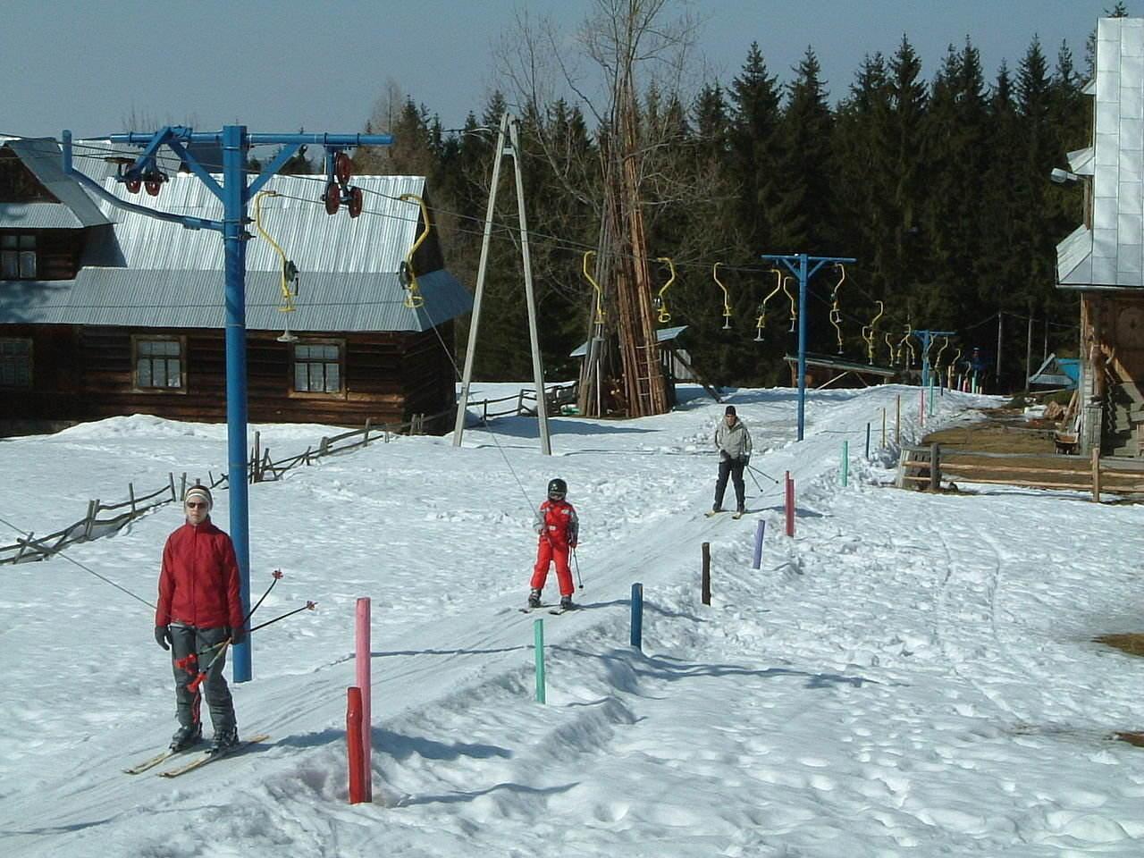 Zakopane - Gubalowka Hill a nursery ski run