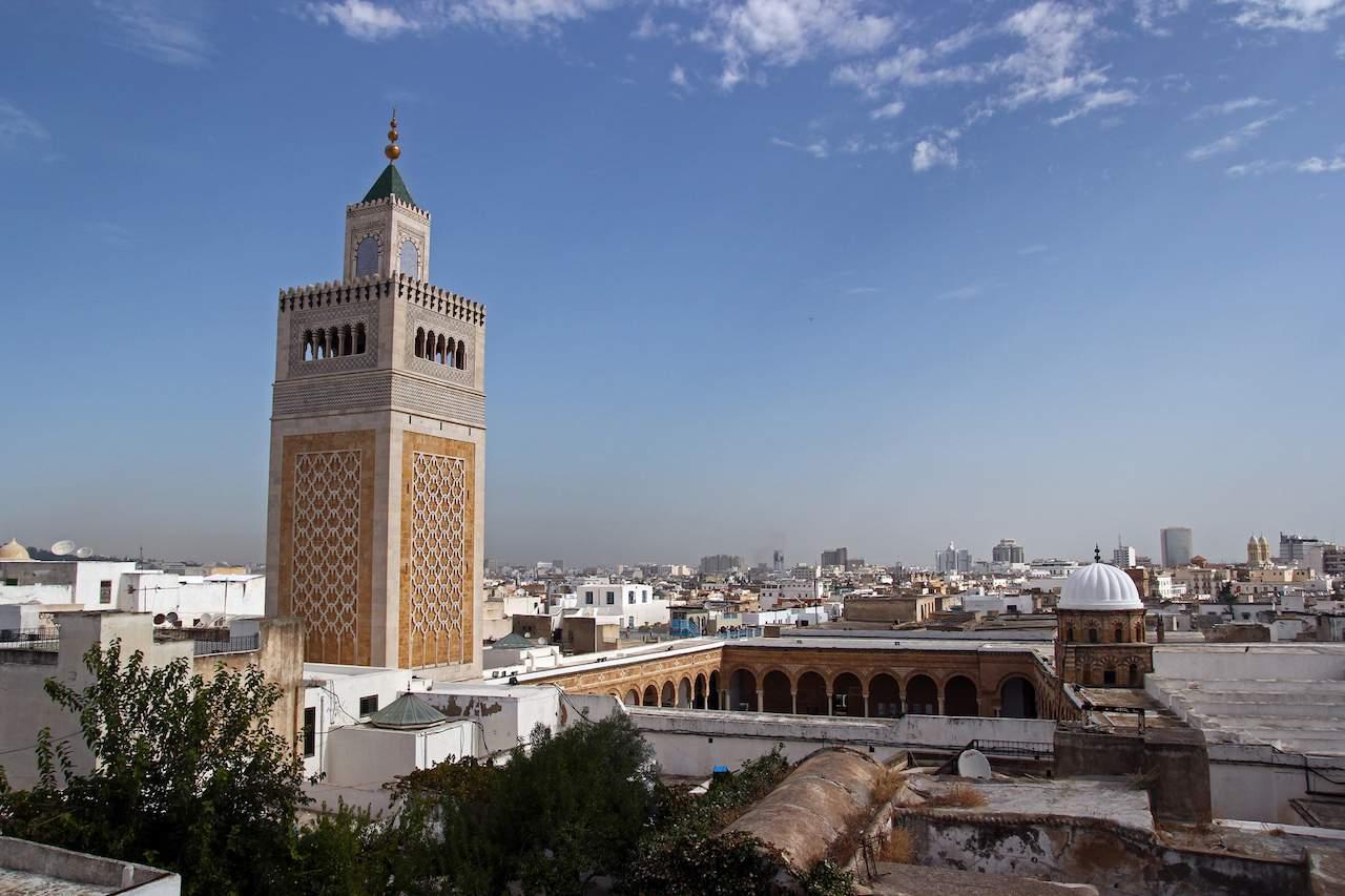 Zitouna Mosque in Tunis