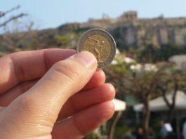 Acropolis Euro Greece Grexit