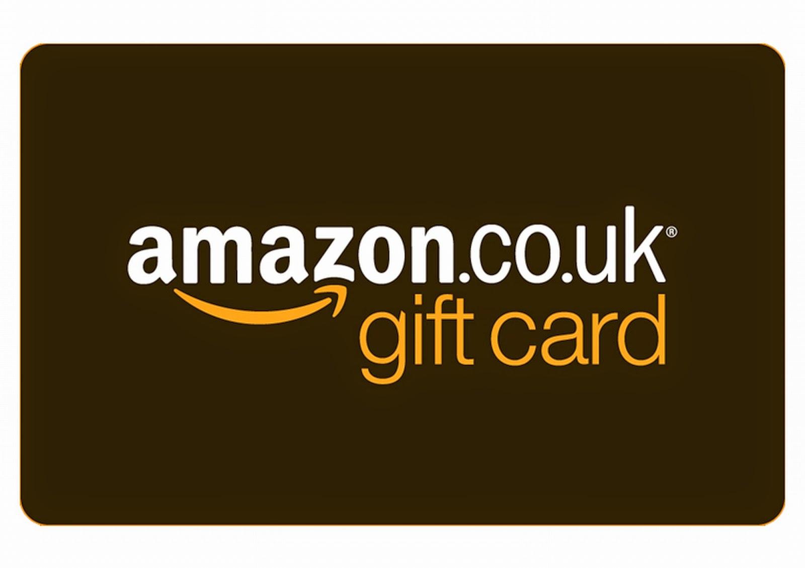 Amazon gift card voucher