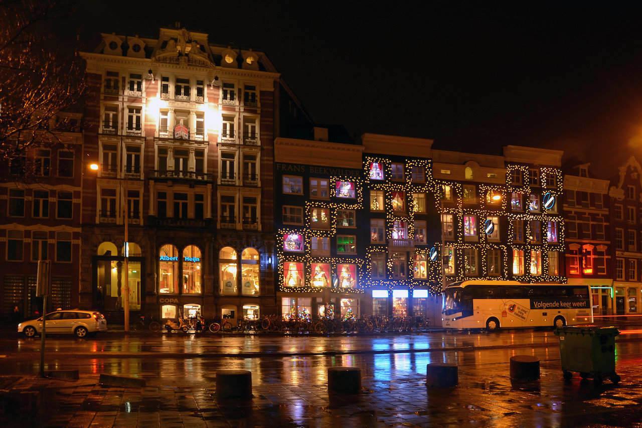 Amsterdam Christmas lights