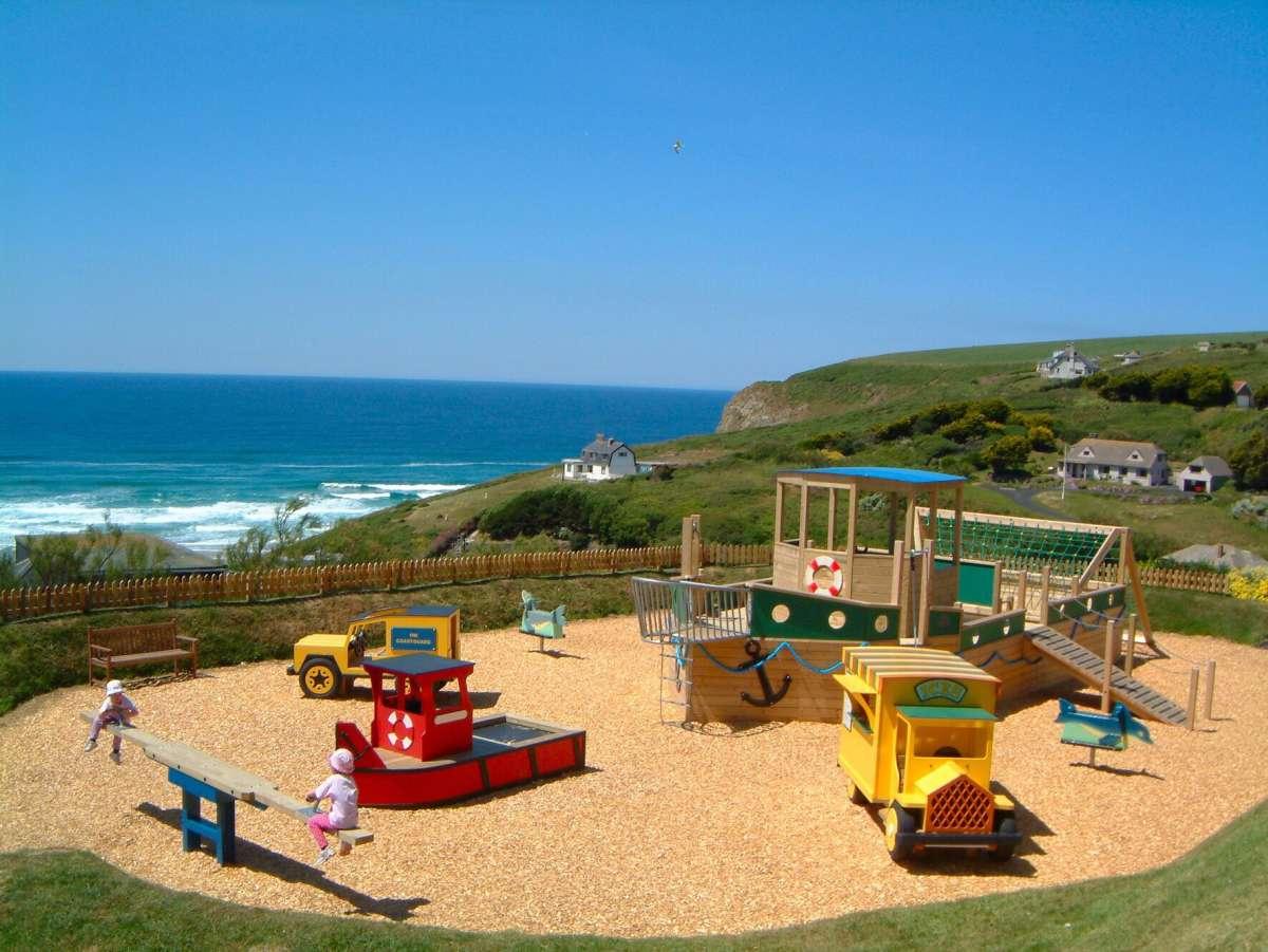 Bedruthan Hotel: playroom area