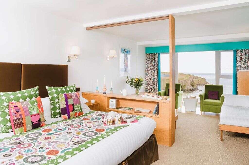 Bedruthan Hotel: bedroom