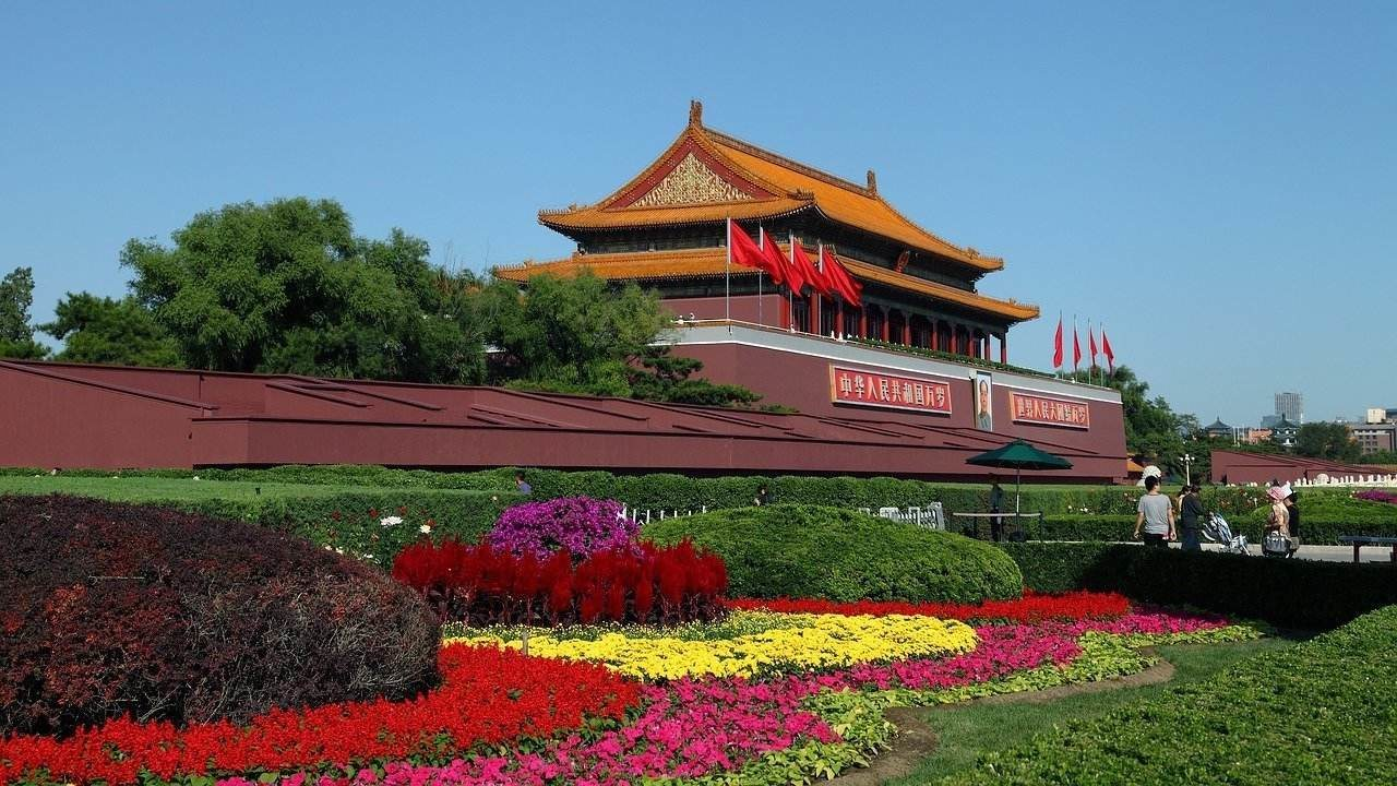 Best time to visit Beijing in Spring : Tiananmen Square